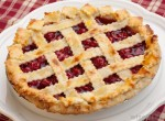 cherry-pie-on-white-plate